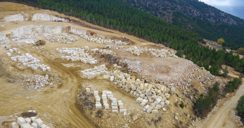 Çobanlar Mermer Drone Fotoğraf Çekimleri