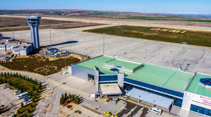 Şanlıurfa Havalimanı Drone Çekimleri -2