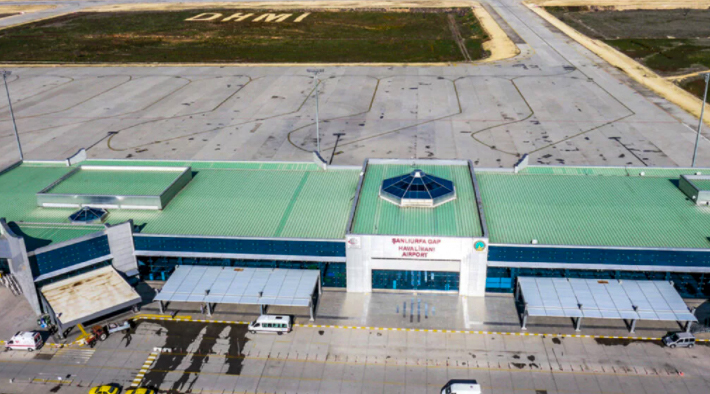 Şanlıurfa Havalimanı Drone Çekimleri -3