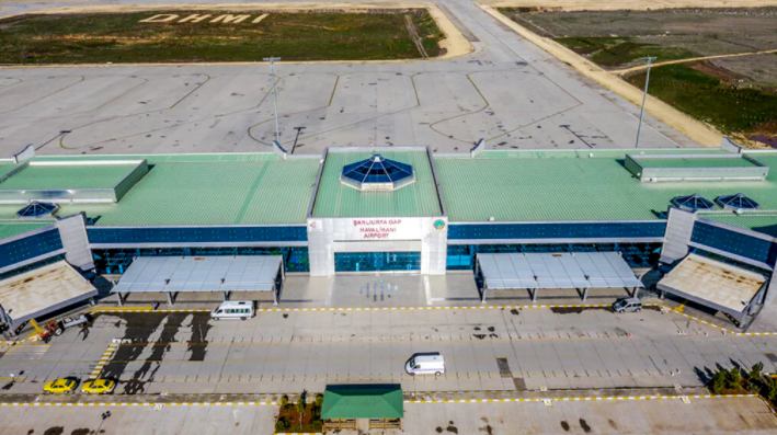 Şanlıurfa Havalimanı Drone Çekimleri -4