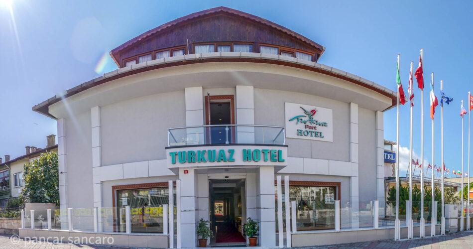 Turkuaz Hotel Havadan Fotoğraf Çekimi