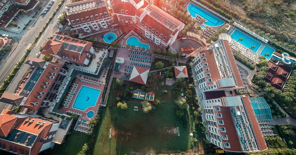 Hane Family Hotel Drone Çekimi 7