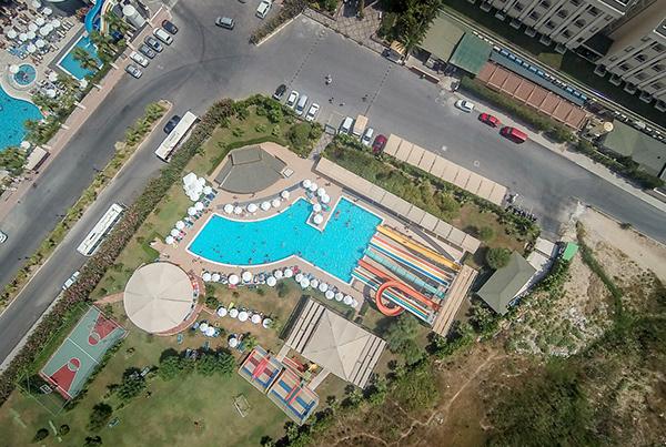 Hane Garden Resort Drone Çekimi 3