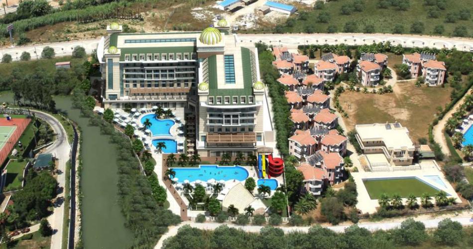 Luna Blanca Resort Drone Çekimi 2
