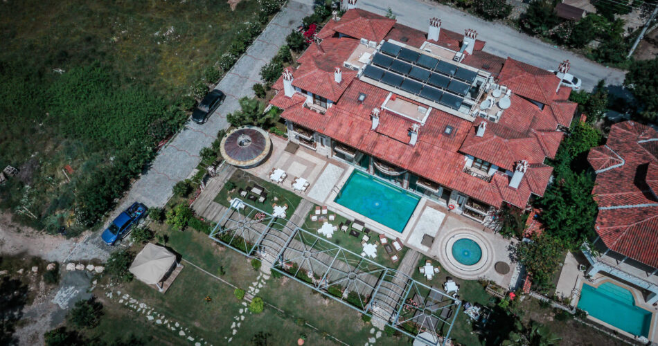 Ottoman Hotel Havadan Çekim 9