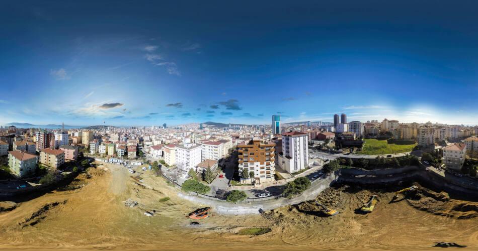 Scon Yapı 360 Sanal Tur Kat Manzarası